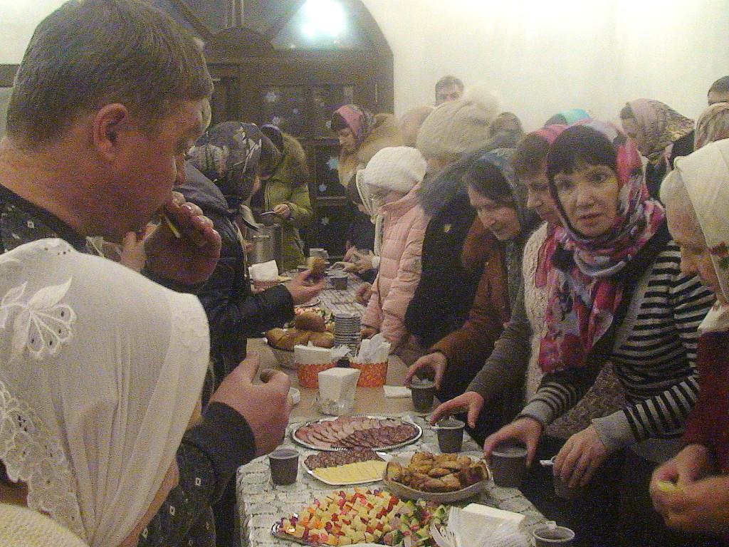 Новолетие и Рождество Христово на приходе Казанского храма поселка Радужный