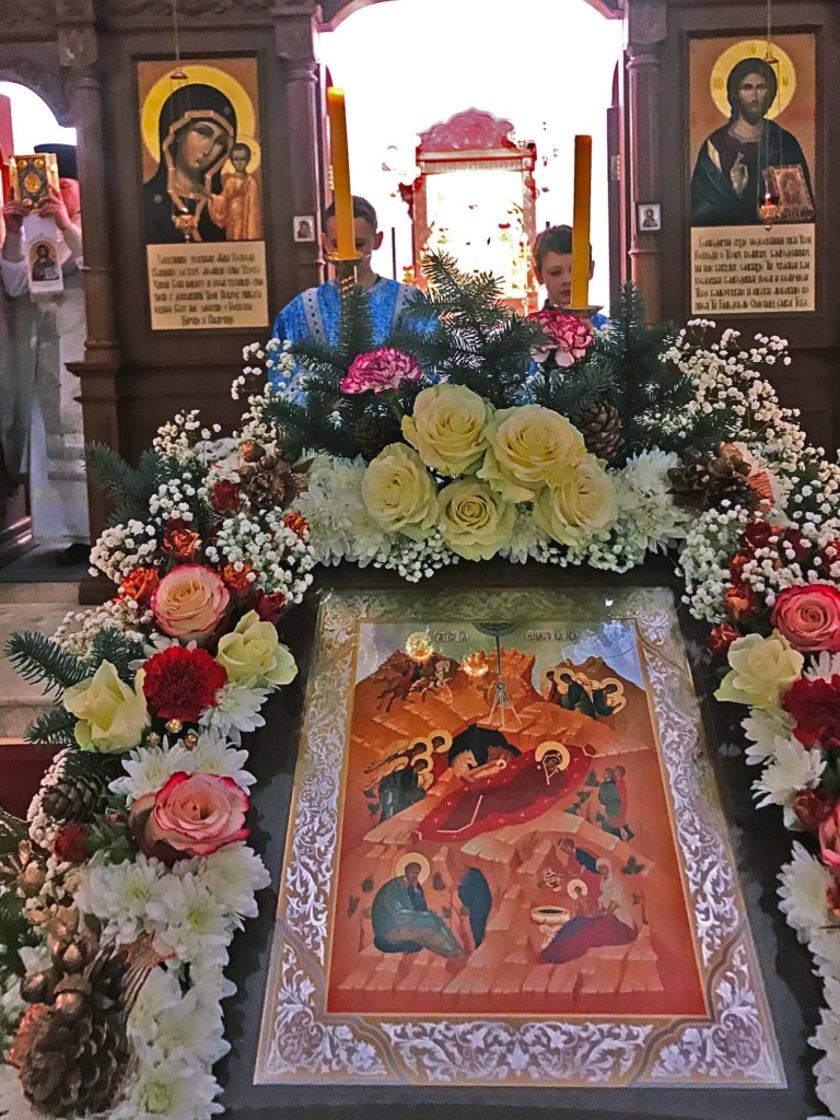 Рождество Христово в Казанском храме поселка Радужный